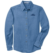 eSTS Ladies Long Sleeve Denim Shirt