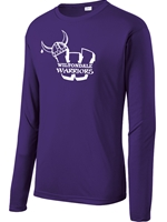 Wiltondale Long Sleeve PosiCharge Competitor Tee - Purple
