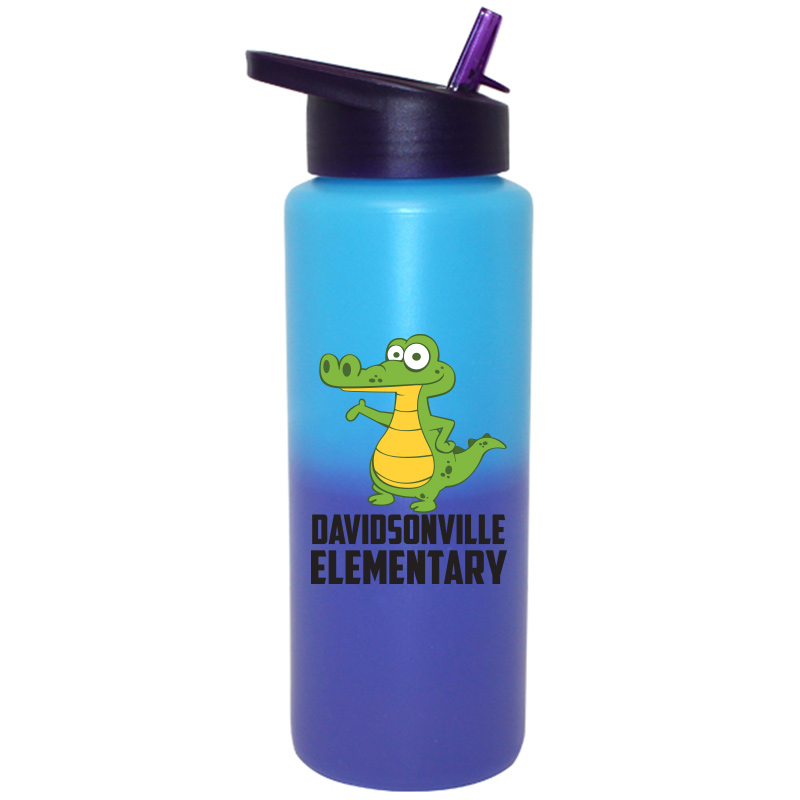 DES Water Bottle - Bue
