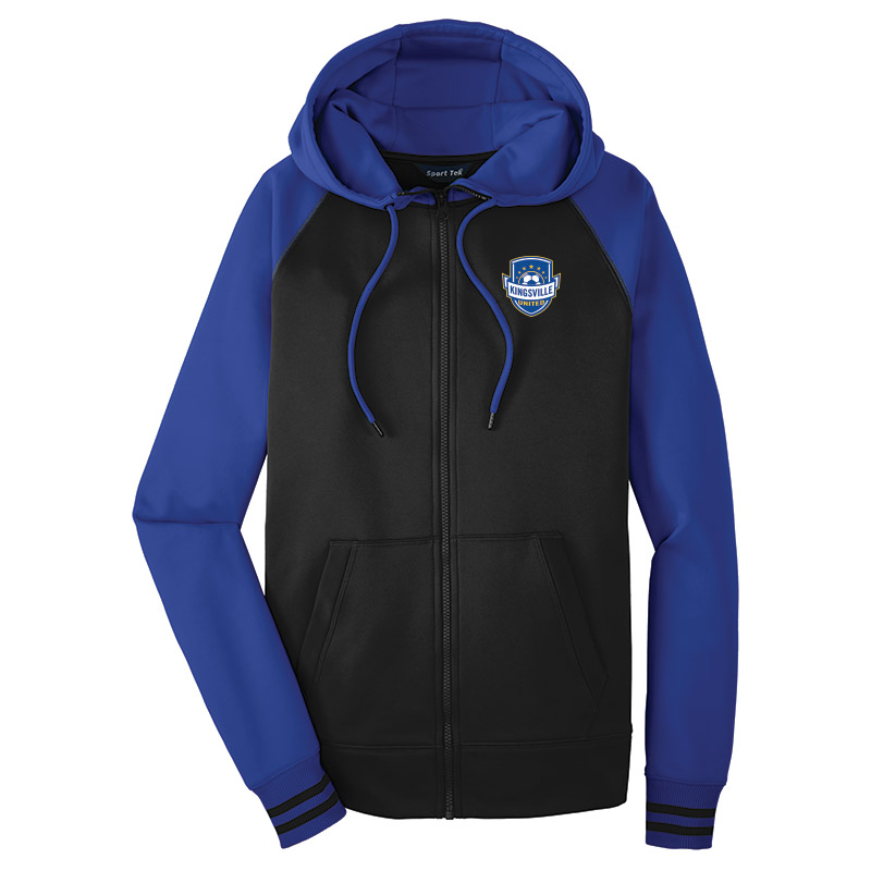 Kingsville United - Mens Varsity Fleece Hooded Jacket
