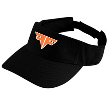 Fallston Fins Orange Visor