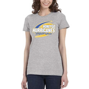 Honeygo Hurricanes Ladies Tee