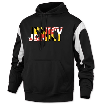 Jemicy MD Flag Color Panel Pullover Sweatshirt - Youth and Adult