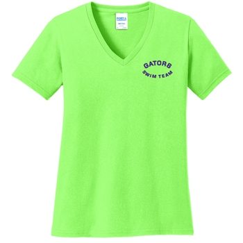 Valleybrook Ladies Cotton V Neck Tshirt