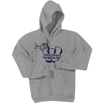 Wiltondale  Pullover Hooded Sweatshirt - Athletic Heather