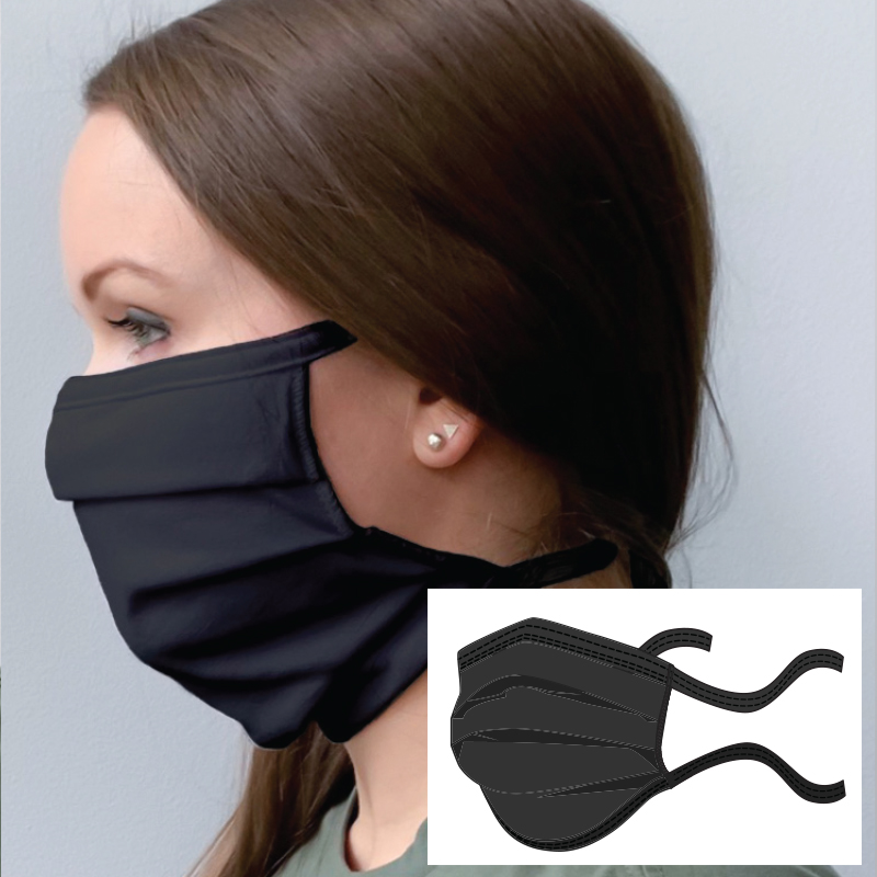 Anti-Microbial Double Layer Cotton Adjustable Face mask - In Stock