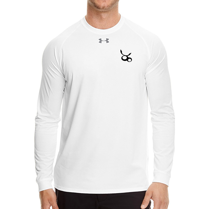 Jemicy LC Mens Ua Locker Tee Long Sleeve - White