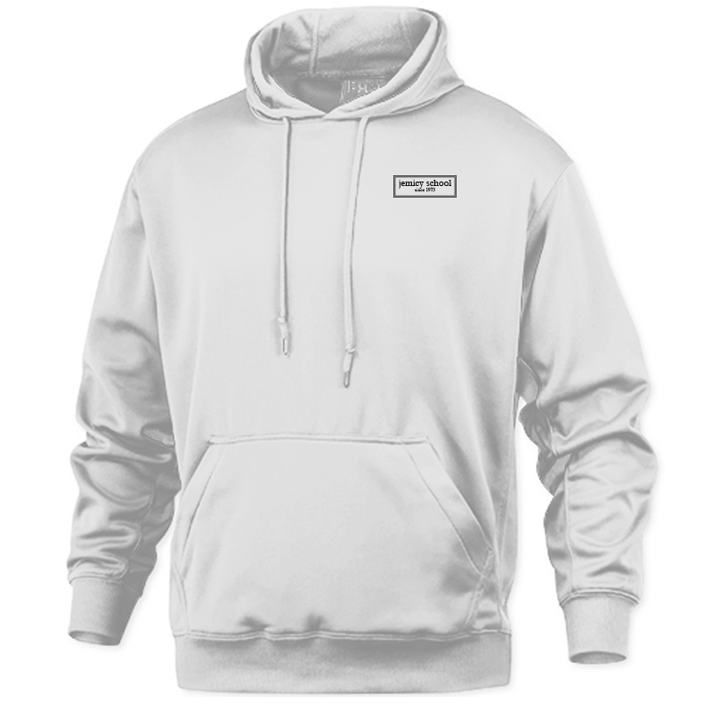 Jemicy EST. Baw Adult Pullover Sweatshirt - White