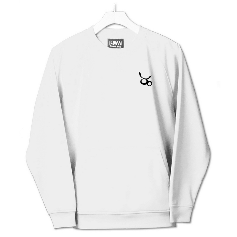 Jemicy LC Baw Youth Crewneck Sweatshirt  - White