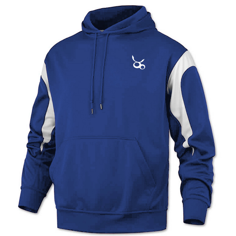 Jemicy LC Baw Adult Color Panle Pullover Sweatshirt - Royal