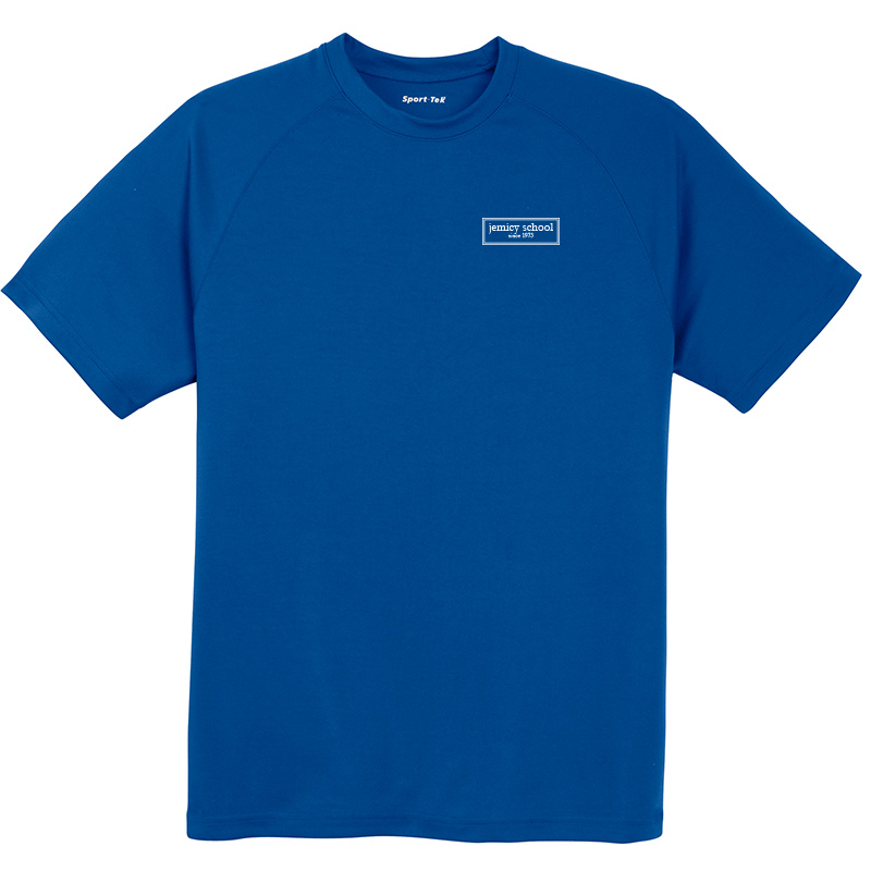Jemicy EST. Sport-Tek® Dry Zone® Short Sleeve Raglan T-Shirt - Royal