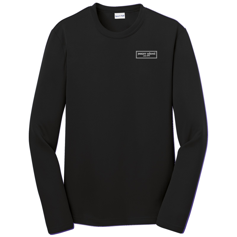 Jemicy EST. Sport-Tek® Dry Zone® Youth Long Sleeve Raglan T-Shirt - Black