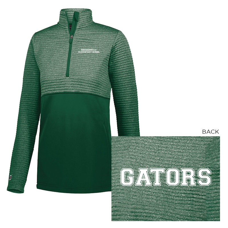 DES Text/ Gator 3D Regulate Pullover Ladies  - FOREST