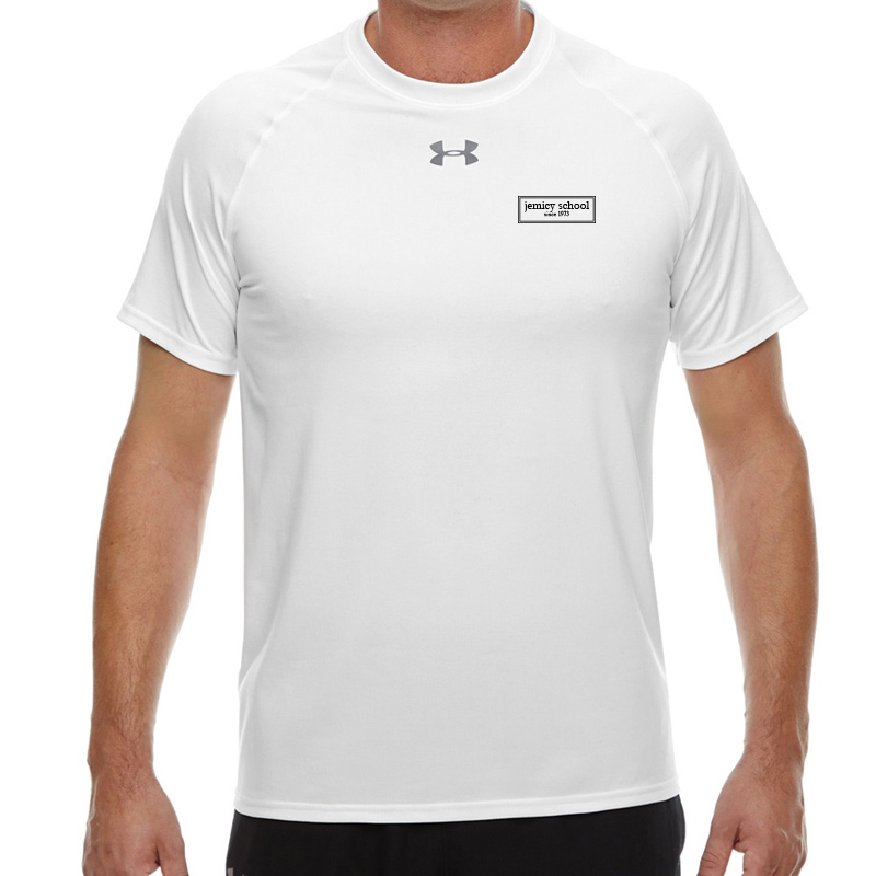 Jemicy EST.  Under Armour Men'S Locker T-Shirt -  White