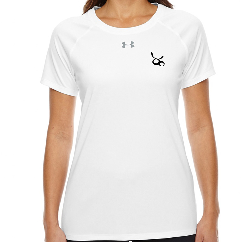 Jemicy LC  Under Armour Ladies' Locker T-Shirt -  White