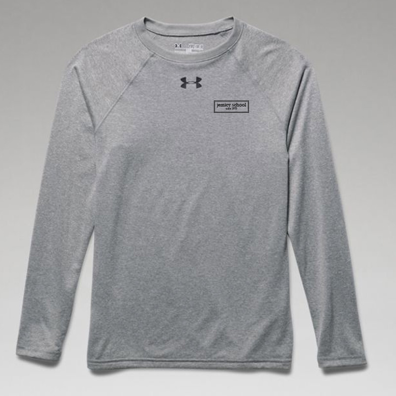 Jemicy EST. Boys Ua Locker Tee Long Sleeve -  True Gray