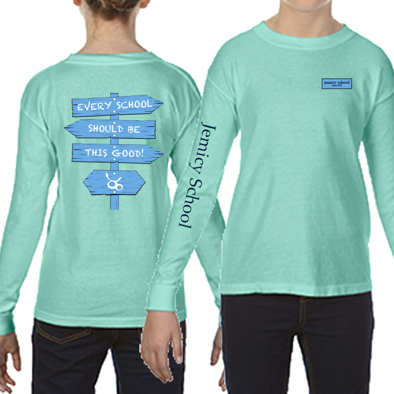 Jemicy Comfort Colors Long Sleeve Yth -  Island Reff