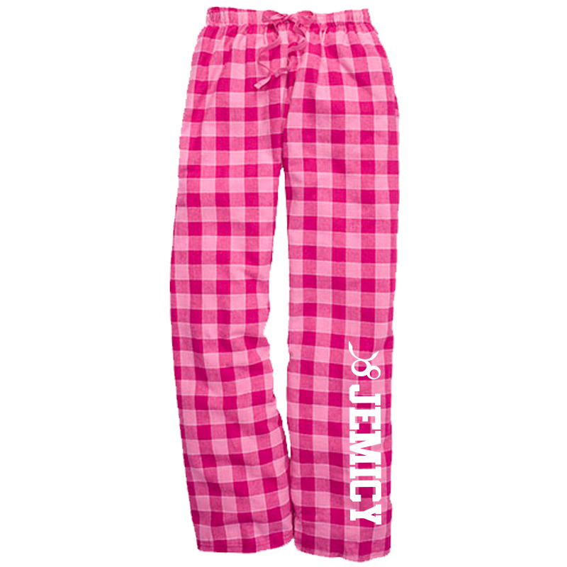 Jemicy Flannel Pant -  Bubblegum Plaid