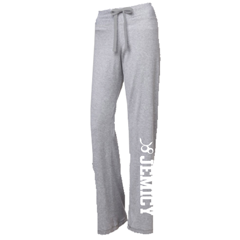 Jemicy Oxford Post Game Jersey Pant -  Heather Gray
