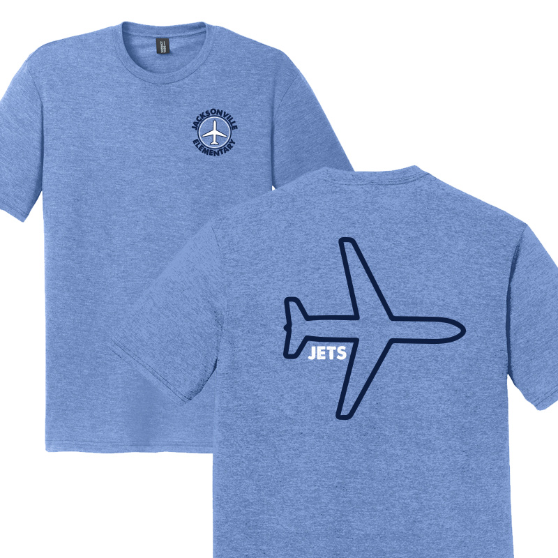 JES Plane Adult Short Sleeve - Royal Frost