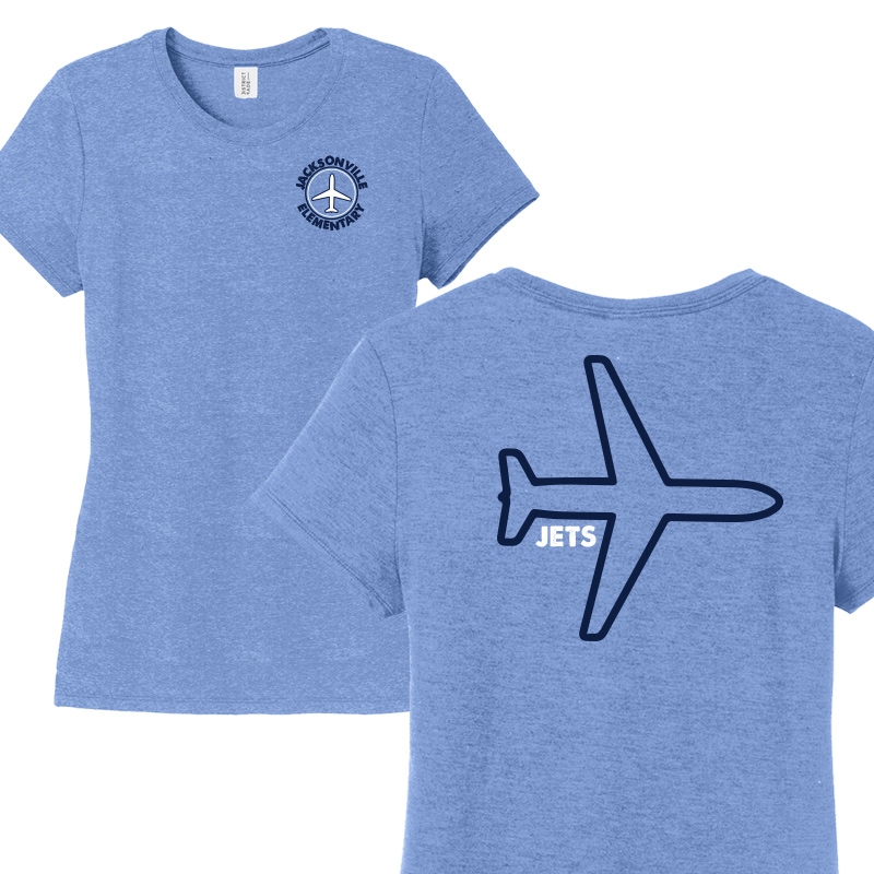JES Plane Ladies Short Sleeve - Royal Frost