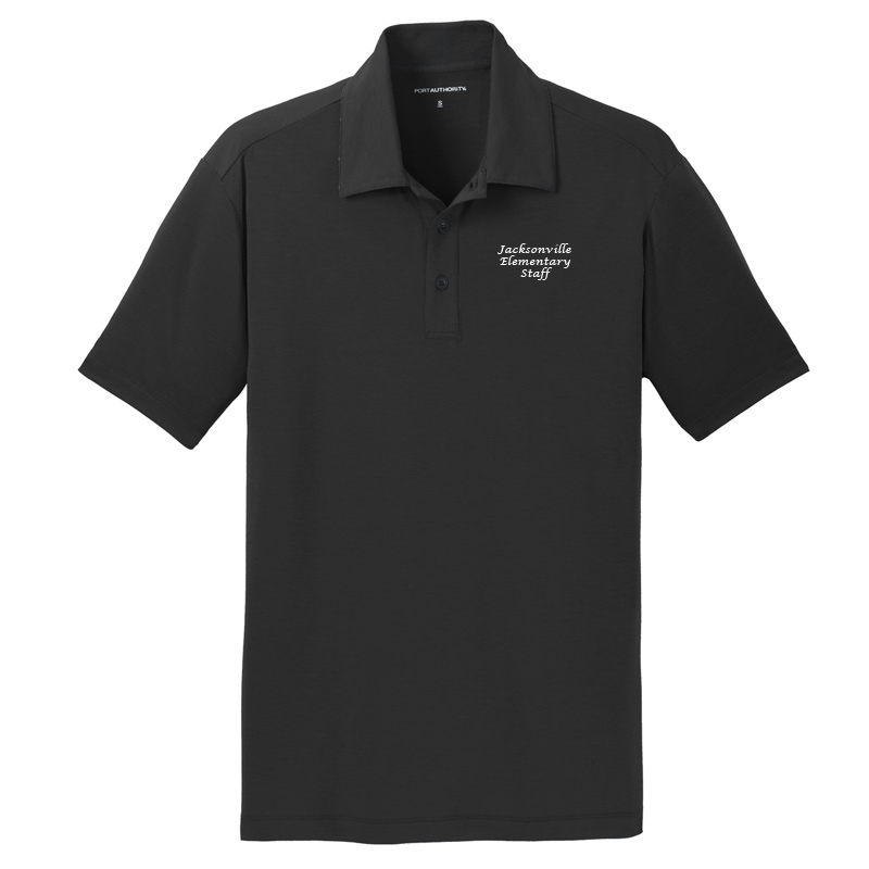 JES  Cotton Touch Polo - Black