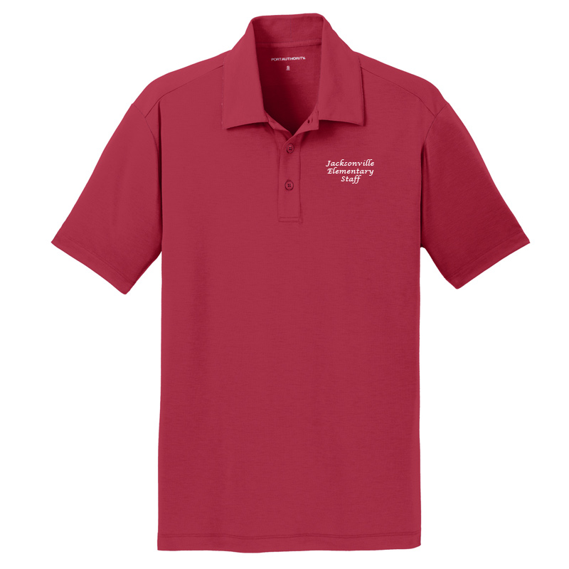 JES  Cotton Touch Polo - Chili Red