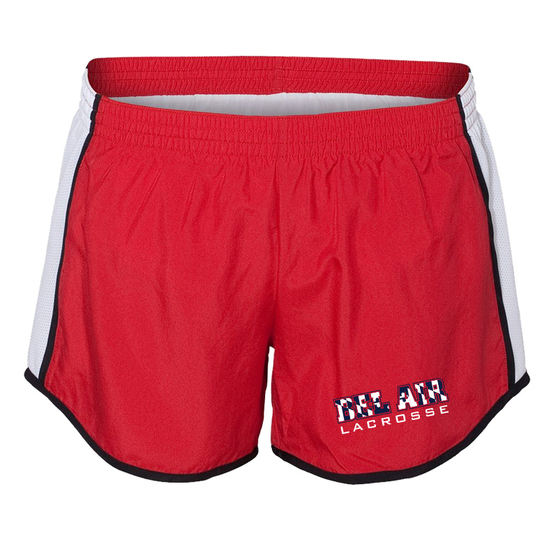 Belair Lacrosse Team Short  - Red