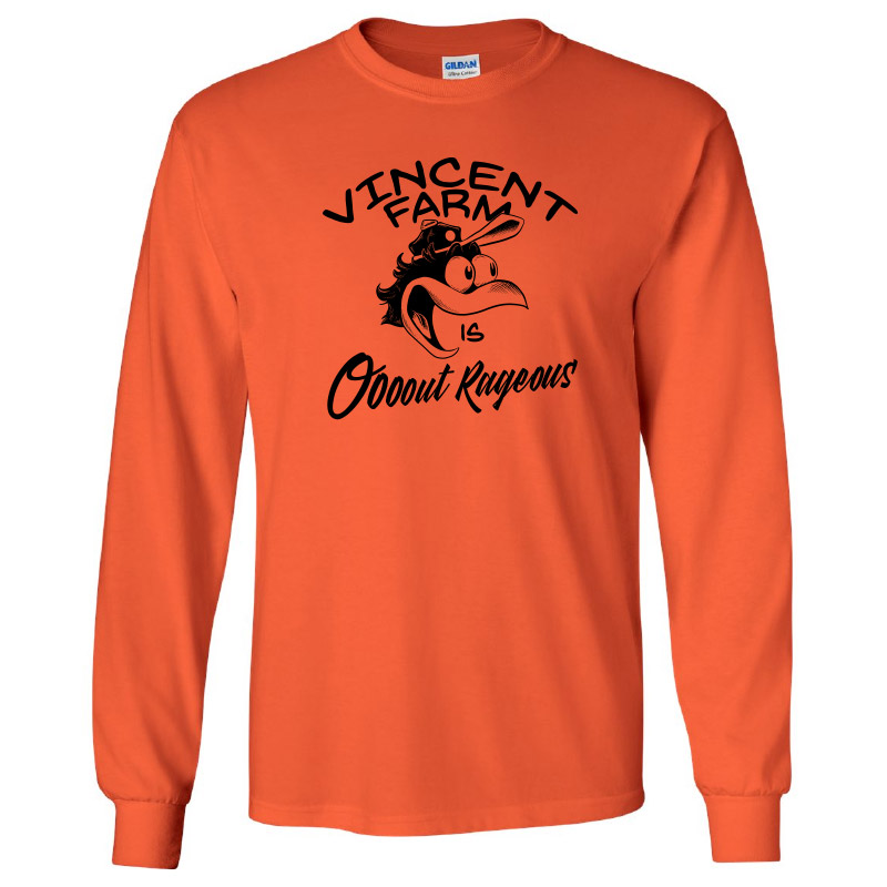 Vincent Farm Outrageous-Long Sleeve Tee