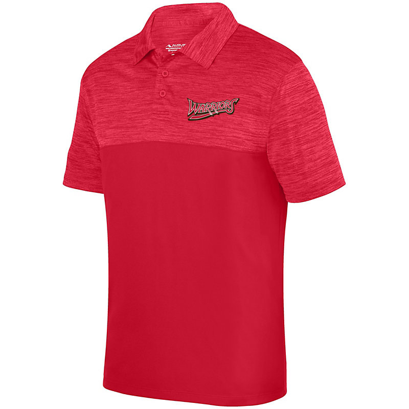 White Marsh Warriors Shadow Tonal Heather Polo-Red