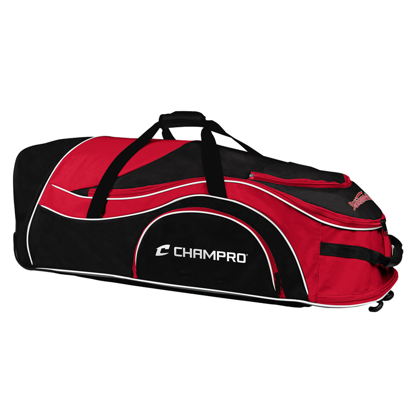 White Marsh Warriors Champro Pro-Plus Catcher'S Roller Bag